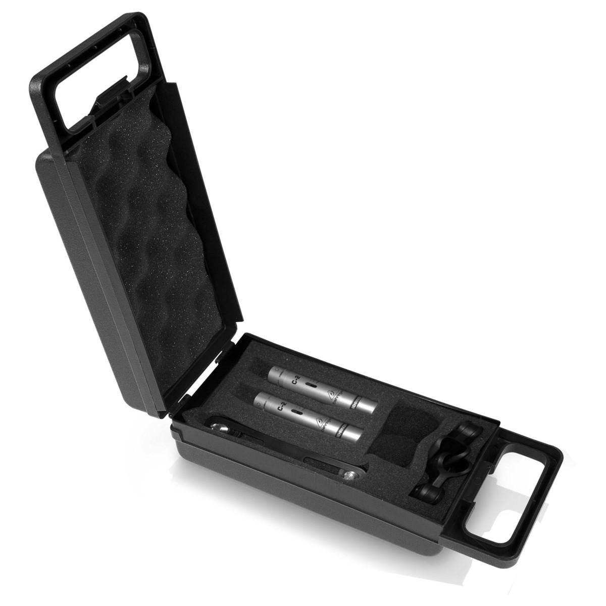 behringer c 2 condenser microphone matched pair at gear4music. Black Bedroom Furniture Sets. Home Design Ideas