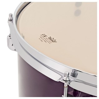 WHD Birch 5 Piece Rock Complete Drum Kit, Purple Fade