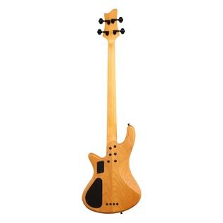 Schecter Stiletto Session-4 FL Bass Guitar, Aged Natural