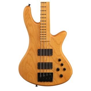 Schecter Stiletto Session-4 FL Bass Guitar, Natural Satin
