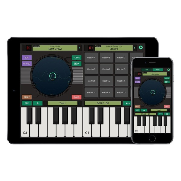Yamaha MX49 - FM Essentials iOS App