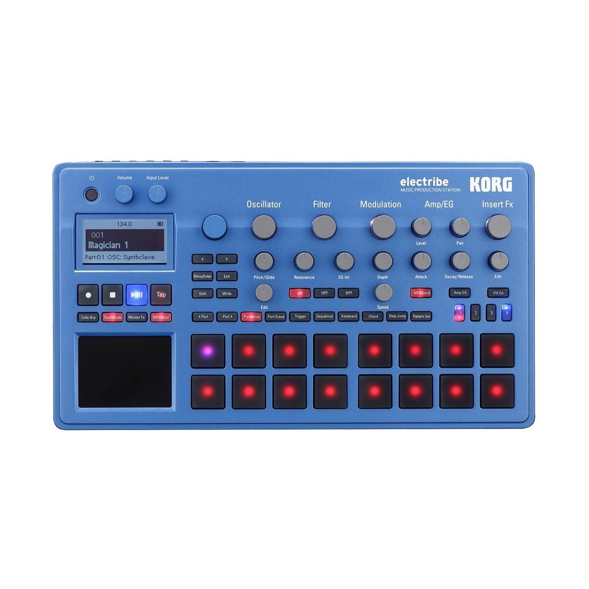 Korg Electribe EMX2-BL Music Production Station
