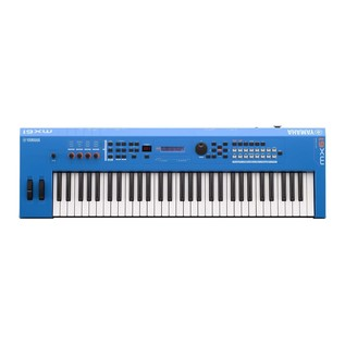 Yamaha MX61 II Music Production Synthesizer, Blue