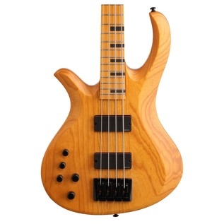 Schecter Riot Session-4 Left Handed Bass Guitar, Natural