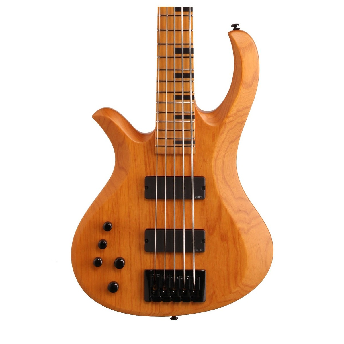 schecter riot session 5 left handed bass guitar aged natural satin at gear4music. Black Bedroom Furniture Sets. Home Design Ideas