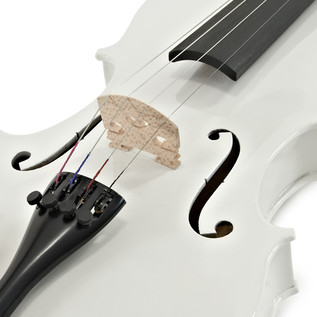 Student 3/4 Violin, White, by Gear4music