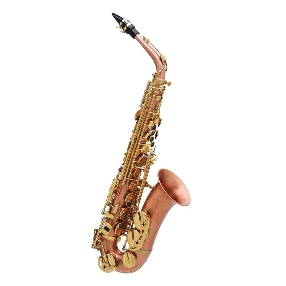 buffet senzo alto saxophone with brushed copper body brass keys rh gear4music de buffet alto saxophone 400 buffet alto saxophone 400 series