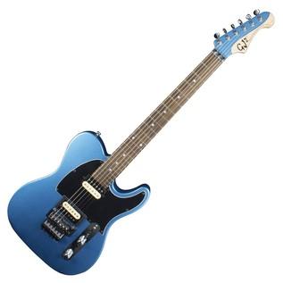 GJ2 By Grover Jackson Hellhound FR Electric Guitar, Crystal Lake Blue