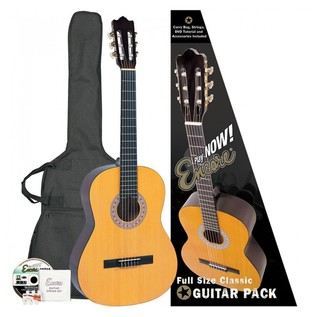 Encore 4/4 Classical Guitar Pack