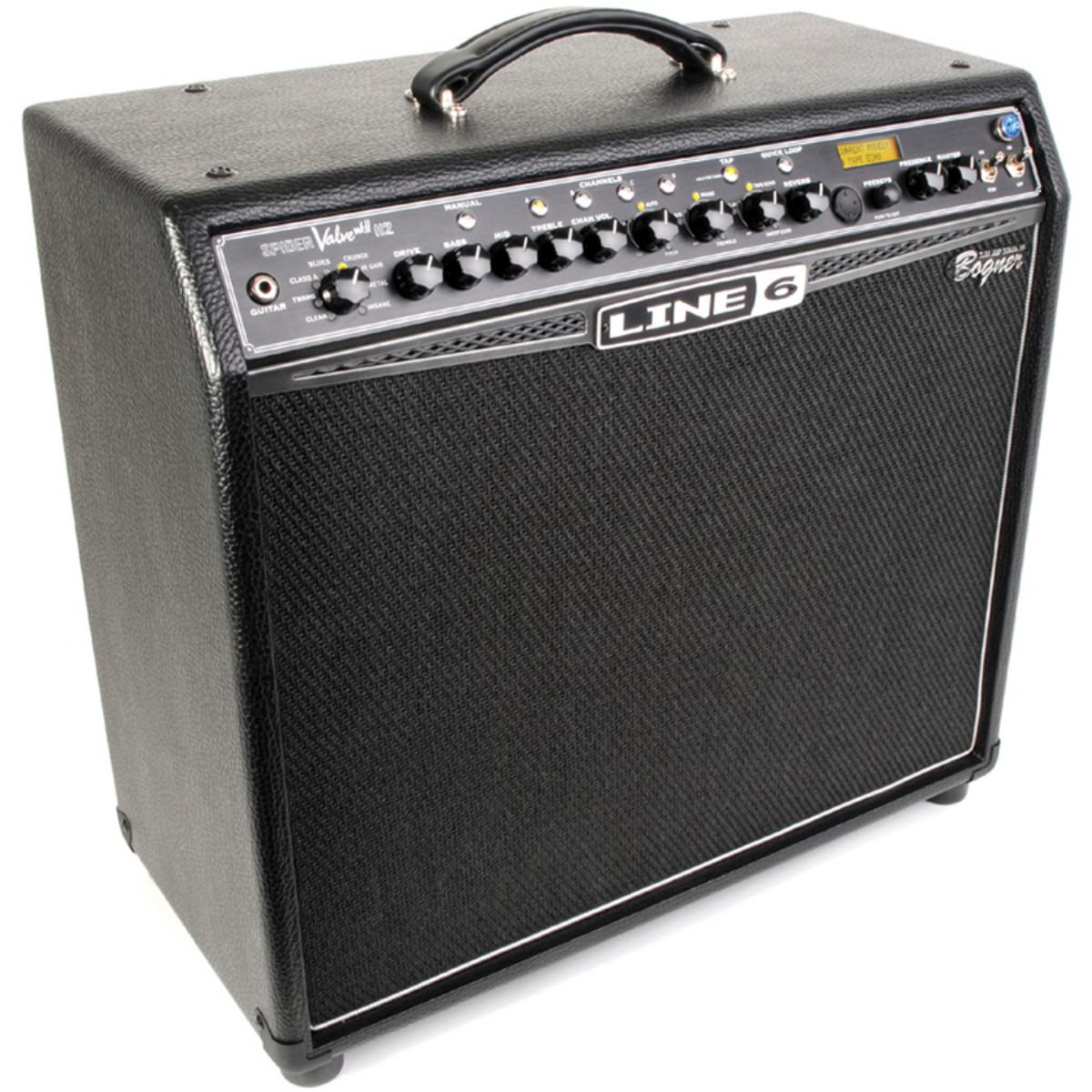 Line 6 Spider Valve 112 MkII 40 Watt 1x12 Guitar. L6SPIDERVMK2. Loading zoom