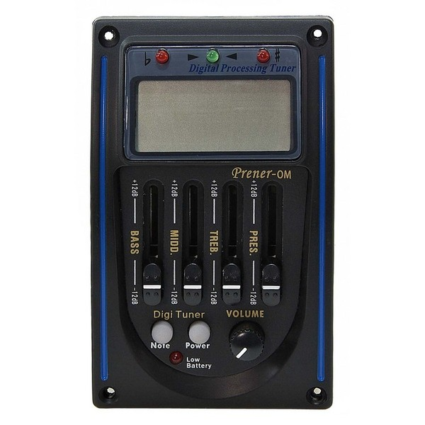 Belcat Prener-OM Acoustic 4 Band EQ + Digital LCD Tuner