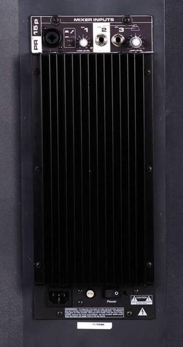 Peavey Pr 15p Active Pa Speaker 270 Watts At Gear4music