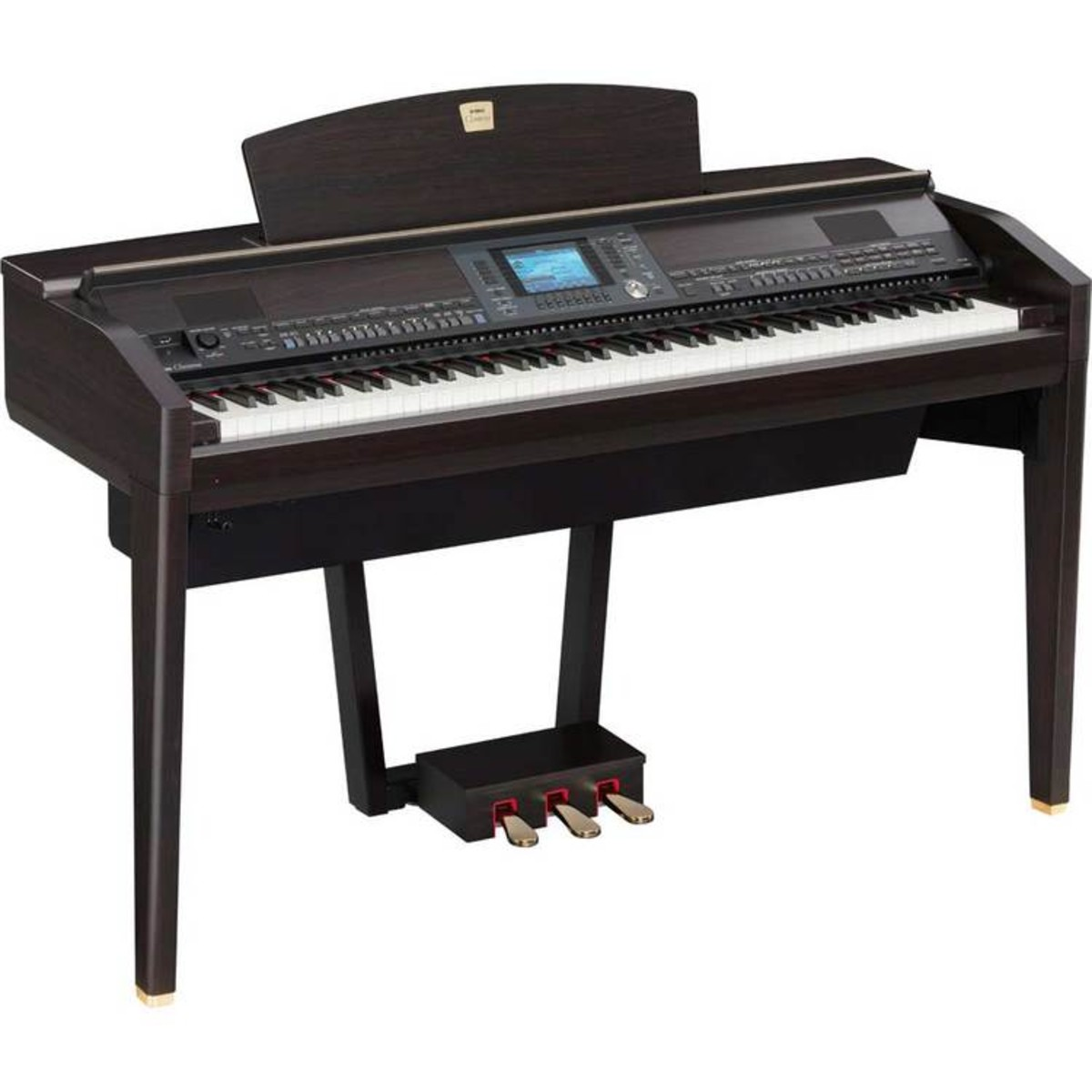 disc yamaha clavinova cvp 505 dark rosewood at gear4music. Black Bedroom Furniture Sets. Home Design Ideas