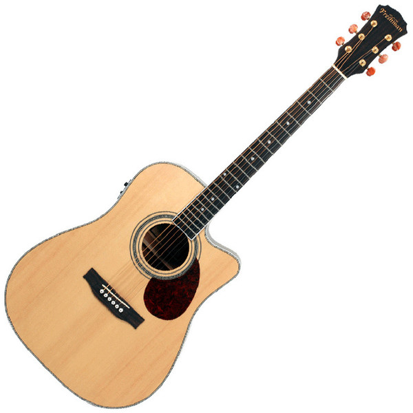 Freshman Apollo 1 DC Dreadnought Cutaway Electro Acoustic Guitar