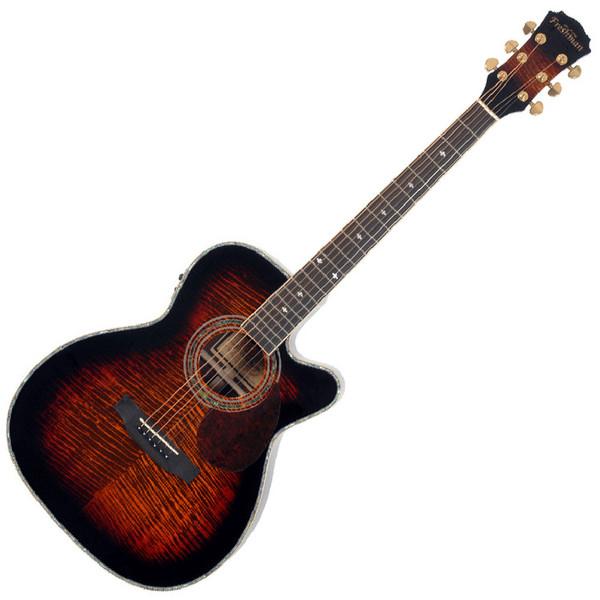 Freshman Apollo 2 OCS Grand Aud. CA Electro Acoustic Guitar, Sunburst