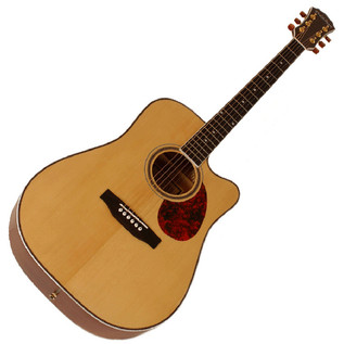 Freshman FA250DCE  Dreadnought CA Electro Acoustic Guitar, Nat.