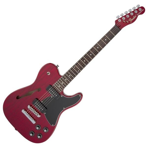 Fender Jim Adkins JA-90 Thinline Telecaster, Crimson