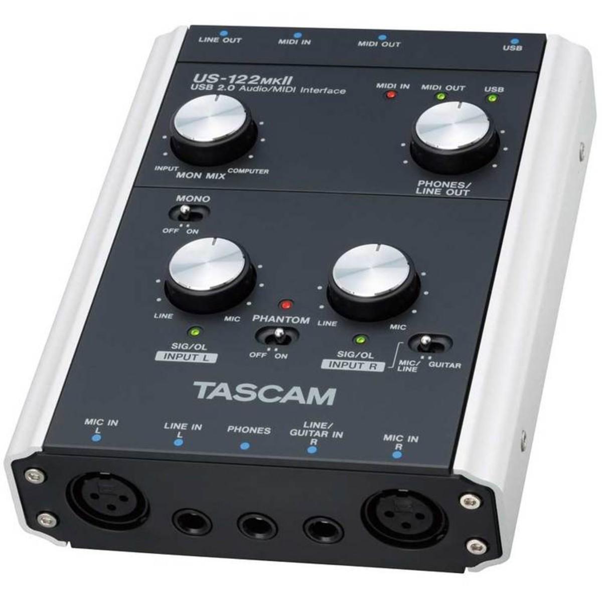 TASCAM US 122 MK2 TREIBER WINDOWS 8