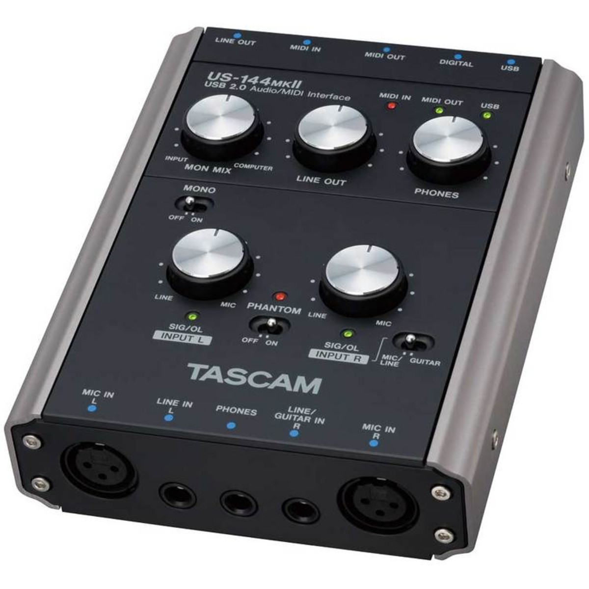 DISC Tascam US-144 MKII USB Audio Interface at Gear4music