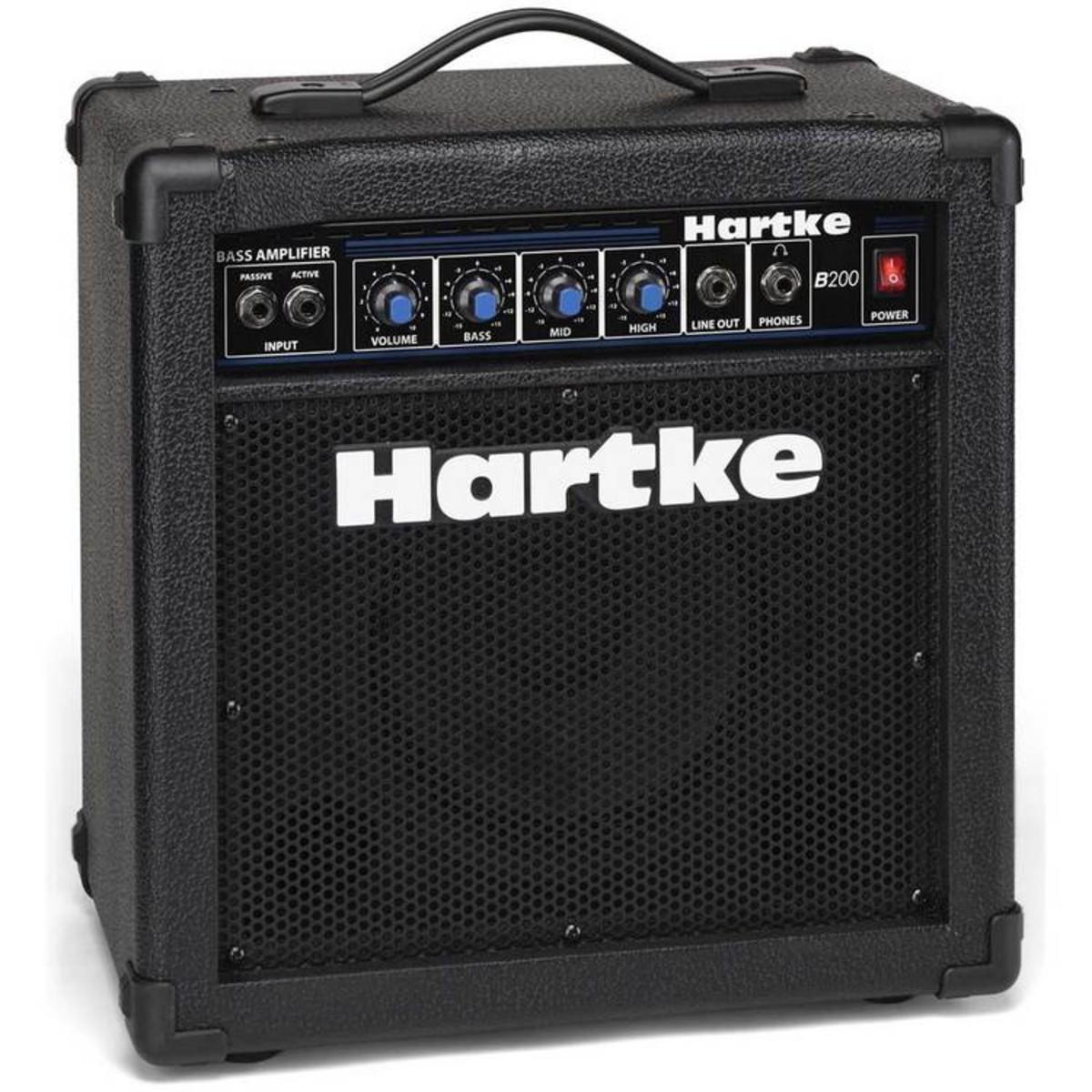 Disc Hartke B200 20w Bass Amp Combo At Gear4music Audio Amplifier Hmb200 Loading Zoom