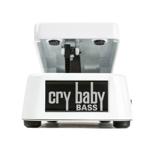 Jim Dunlop CryBaby Bass Wah, White