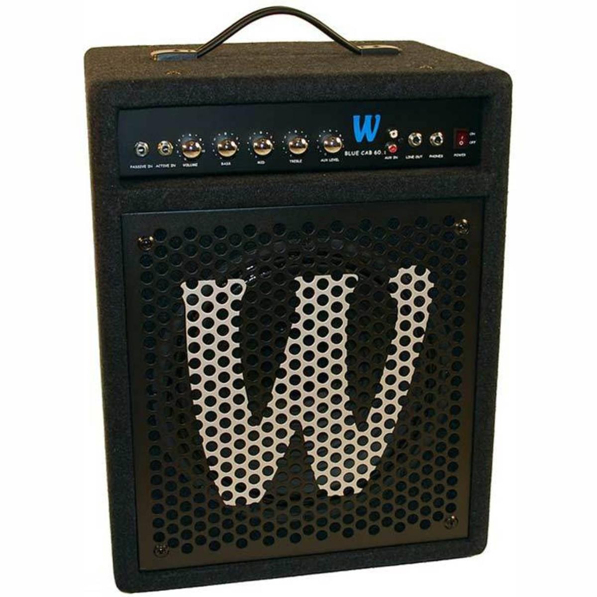 60 Watt Bass Combo Amp WCBLUECAB601 Loading Zoom