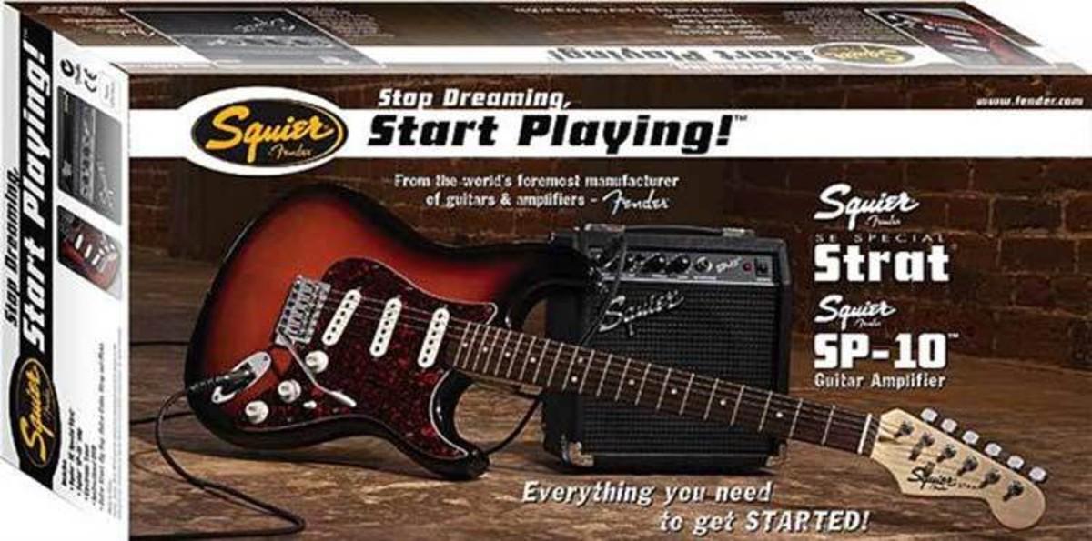 Squier by Fender SE Special Strat SP10 Verstärker Set schwarz bei ...