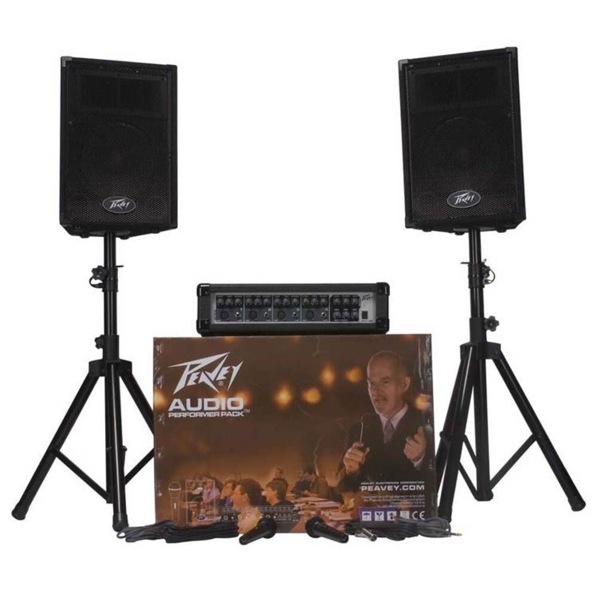 peavey audio performer pack portable pa system at. Black Bedroom Furniture Sets. Home Design Ideas