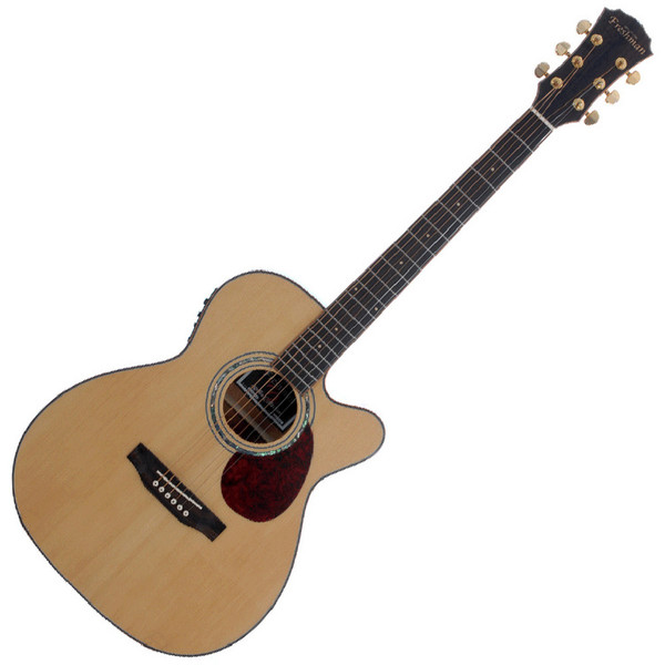 Freshman Apollo 3 OC Grand Aud. CA Electro Acoustic Guitar, Natural