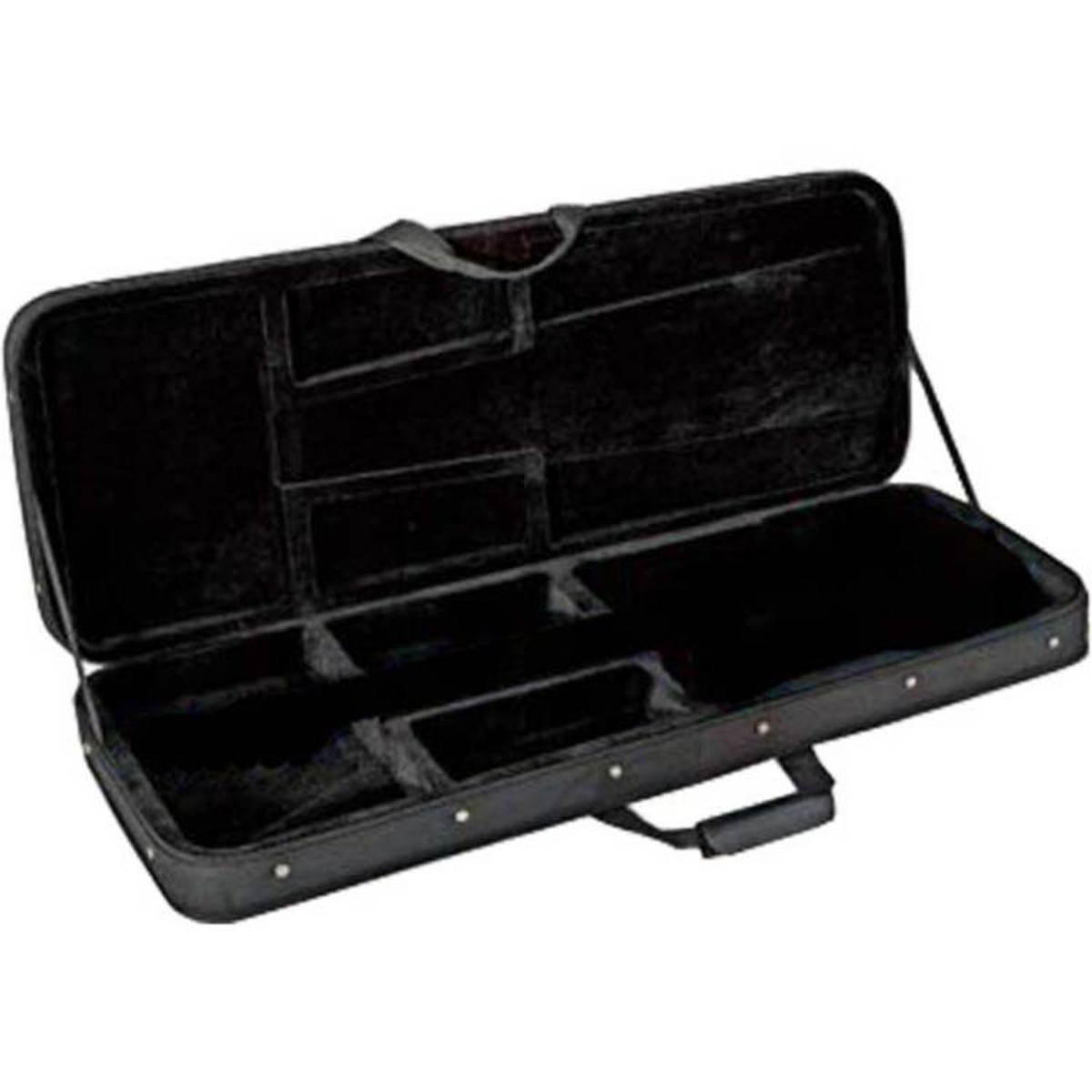 Click to view product details and reviews for Kinsman Hfb6 Hard Foam Bass Guitar Case.
