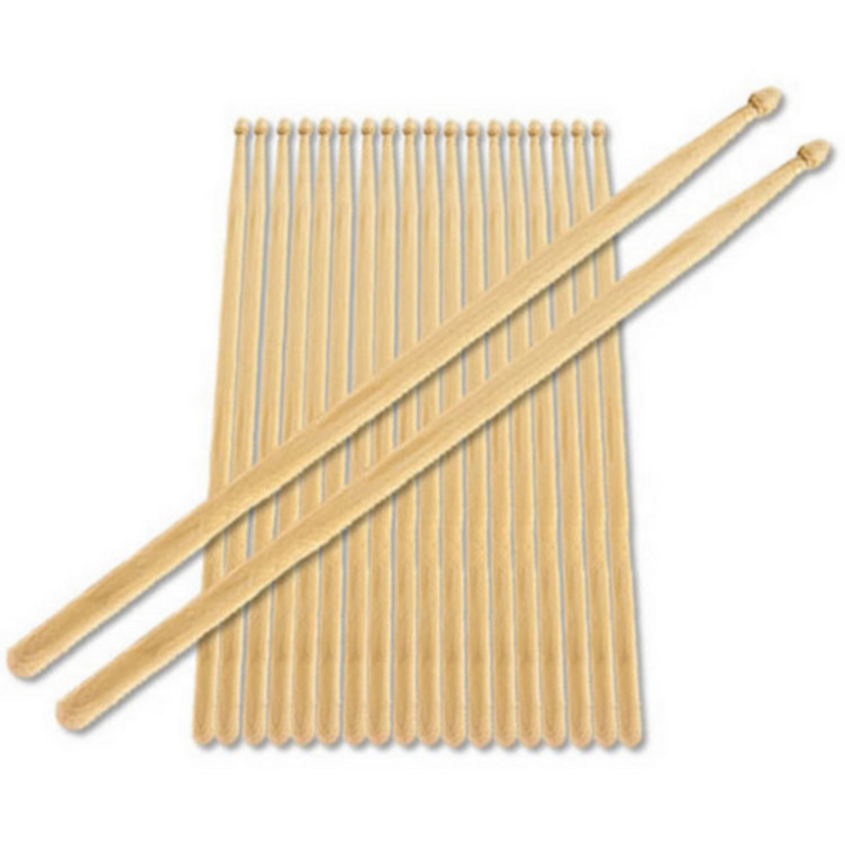 2B Nylon Tip Drumstick Bundle Pack of 10