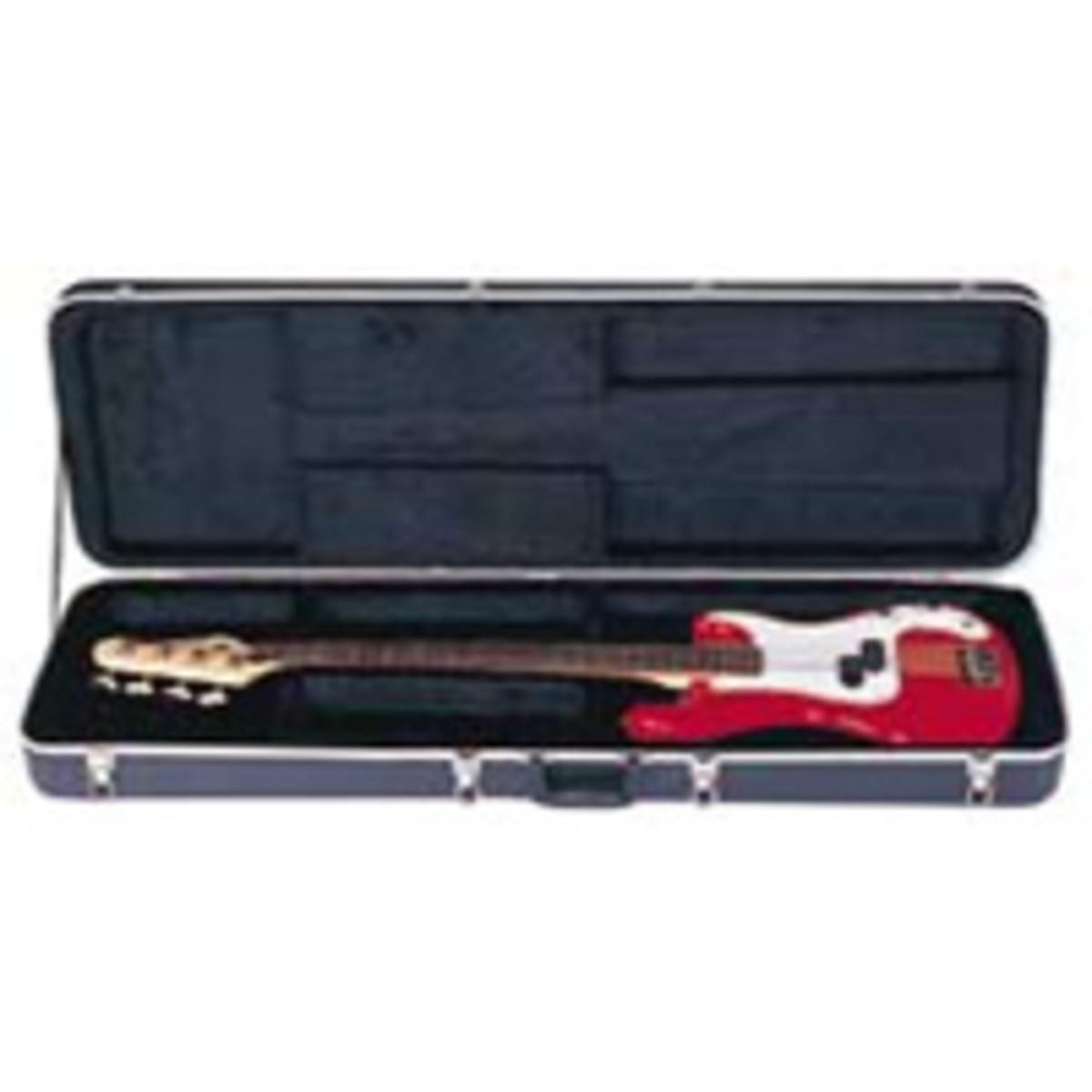 Click to view product details and reviews for Kinsman Rectangular Bass Guitar Case.