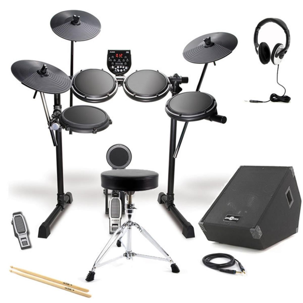 DISC Alesis DM6 Drum Kit + 150W Amp Pack