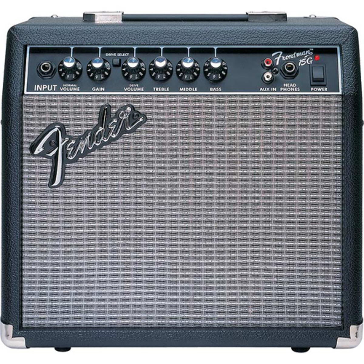 discontinued fender frontman amp 15g at gear4music. Black Bedroom Furniture Sets. Home Design Ideas