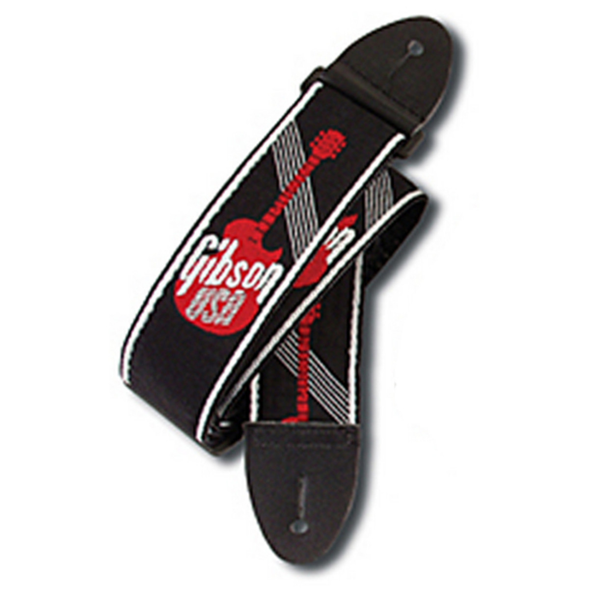 Click to view product details and reviews for Gibson 2 Woven Strap With Red Gibson Logo.
