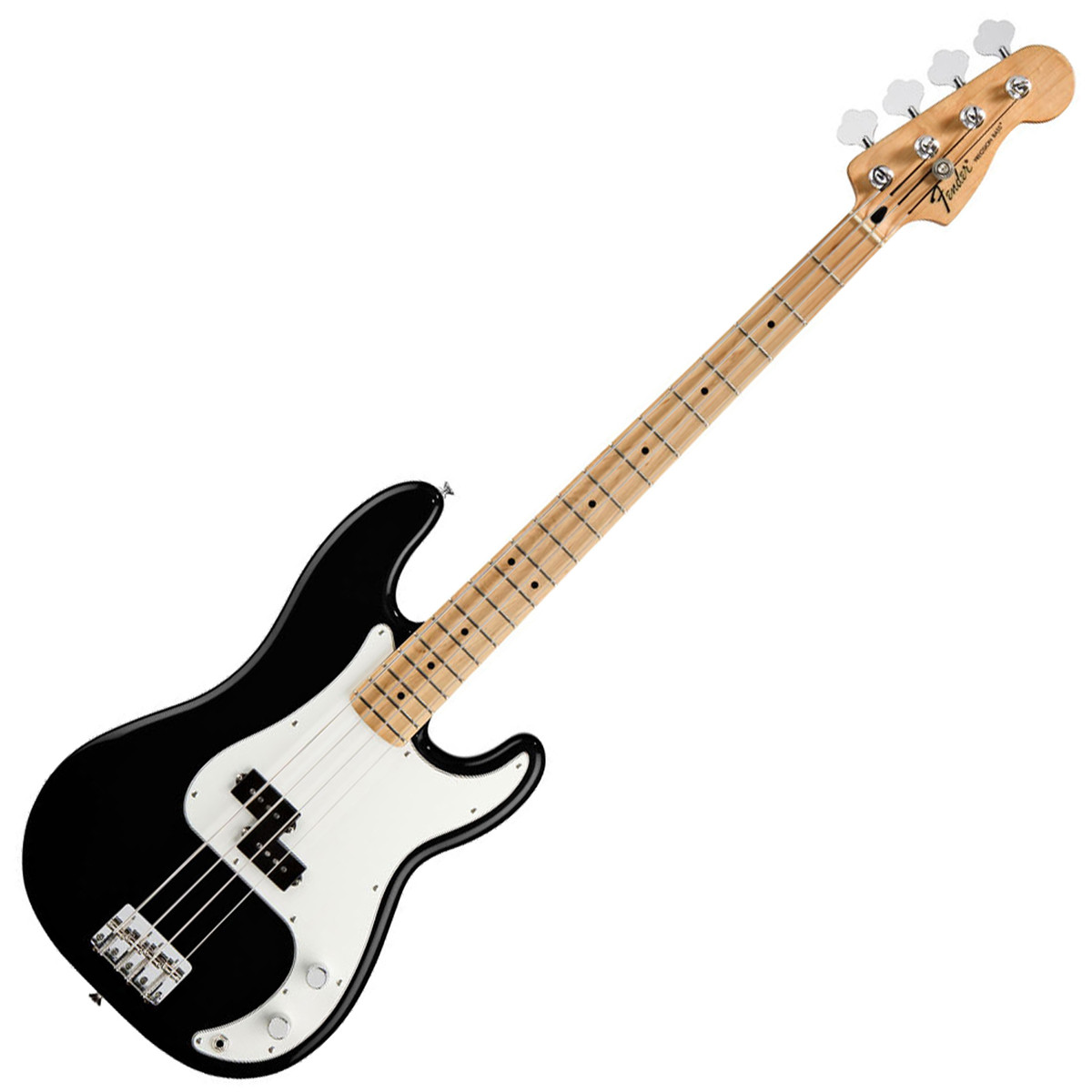 fender standard precision bass mn black at gear4music. Black Bedroom Furniture Sets. Home Design Ideas