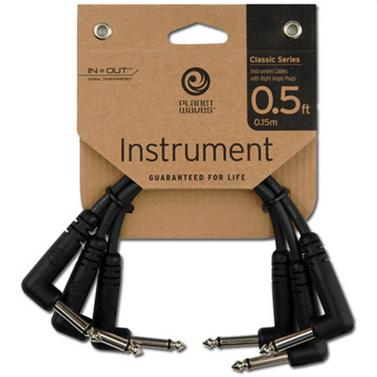 Click to view product details and reviews for Planet Waves Classic Series Right Angle Patch Cable 3 Pack 6.