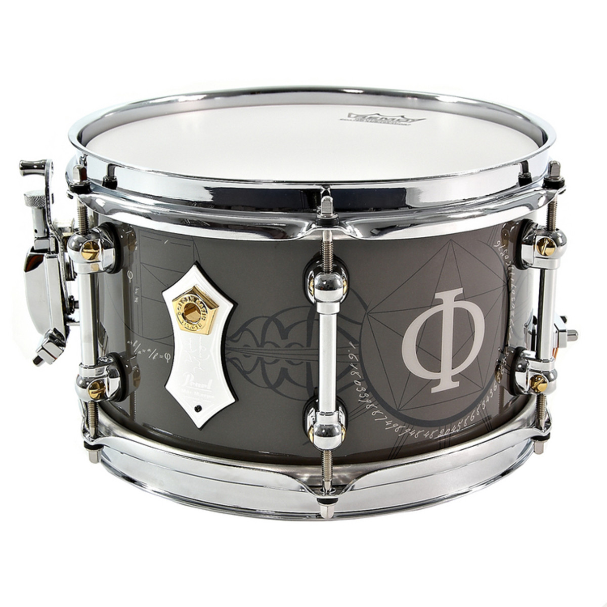 Snare Drum Pearl Logo : disc pearl mm1062 mike mangini signature snare at gear4music ~ Hamham.info Haus und Dekorationen