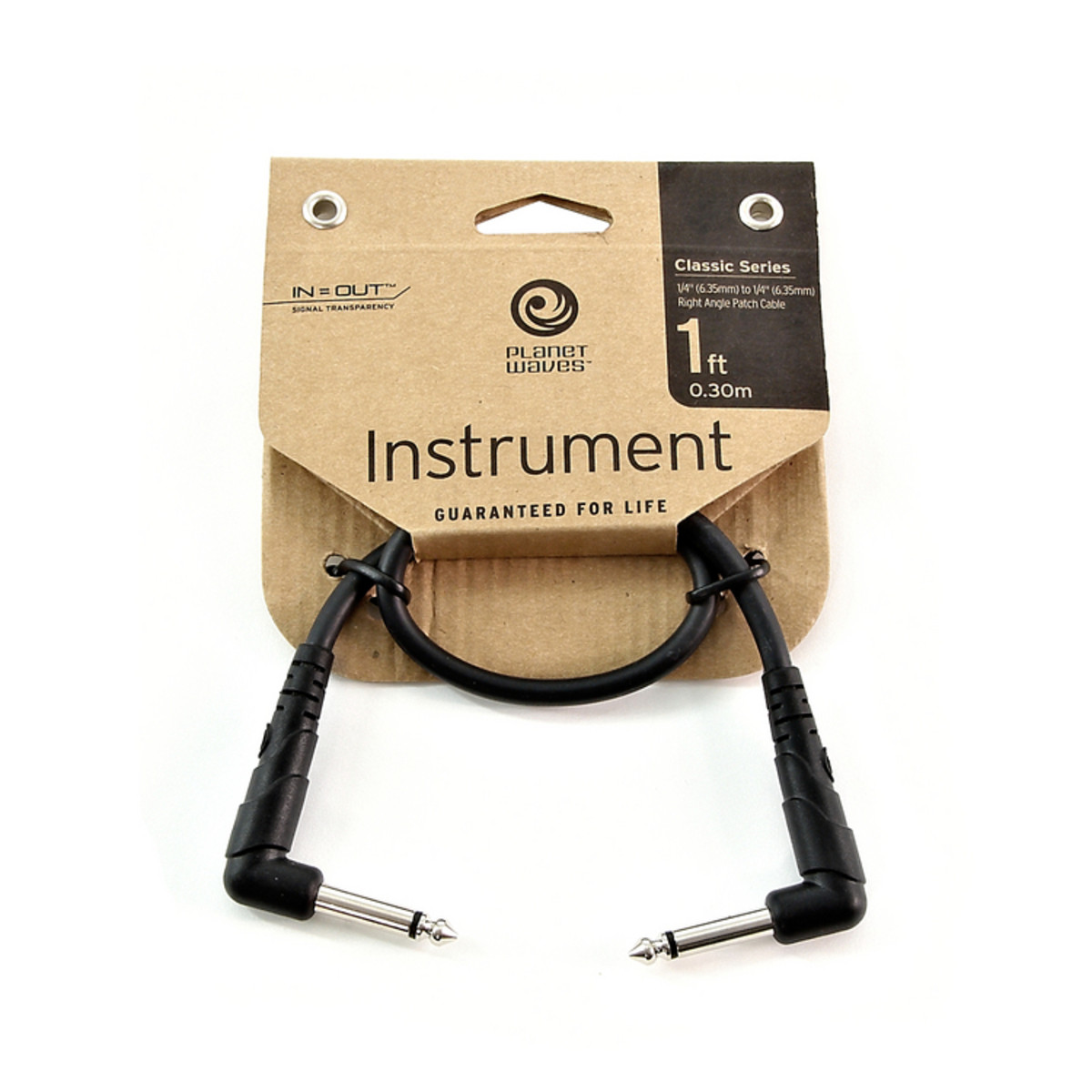Click to view product details and reviews for Planet Waves Classic Series Patch Cable Right Angle 1 Foot.