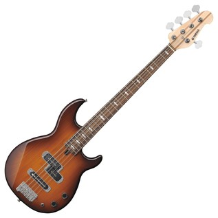 Yamaha BB425 5-String Bass Guitar, Tobacco Brown Sunburst