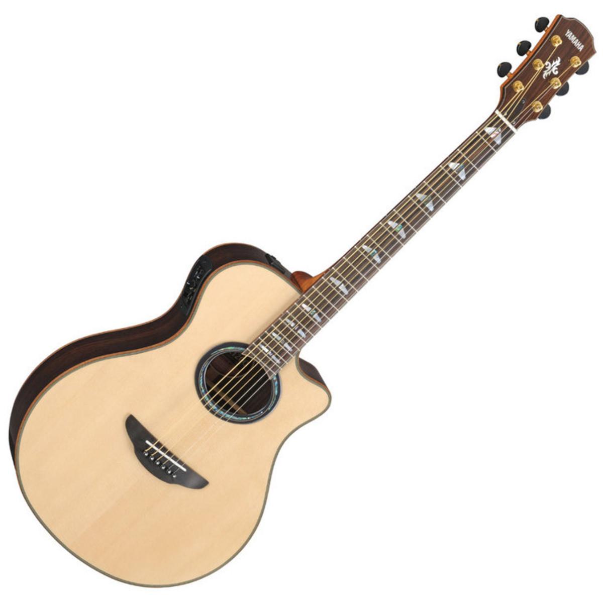 yamaha apx1200 elektro akustik gitarre natur bei gear4music. Black Bedroom Furniture Sets. Home Design Ideas