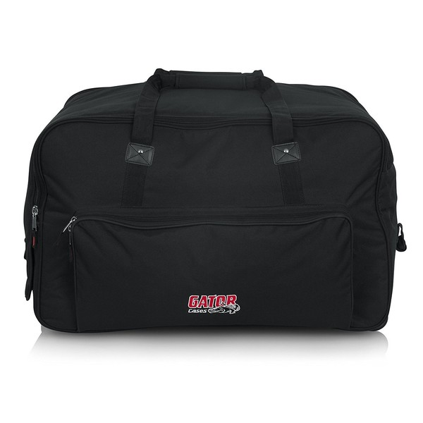 Gator GPA-712LG Large Format 12'' Portable Speaker Bag with Wheels
