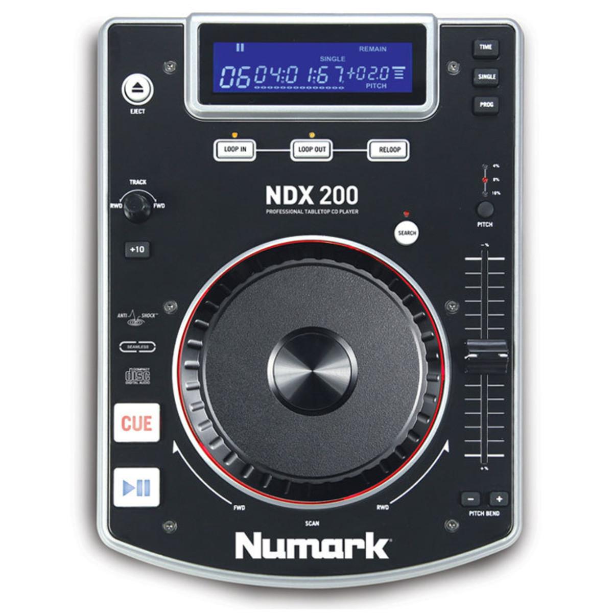 Numark lettore cd da tavolo ndx200 a - Lettore mp3 da tavolo ...