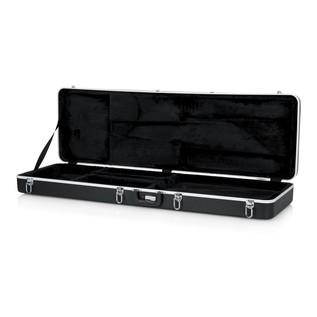 Gator GC-BASS Deluxe Bass Guitar Case, Open
