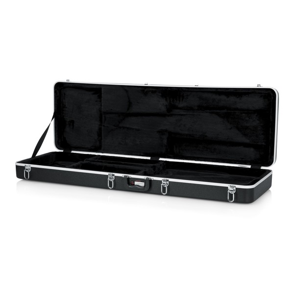 Gator GC-BASS Deluxe Bass Guitar Case, Open