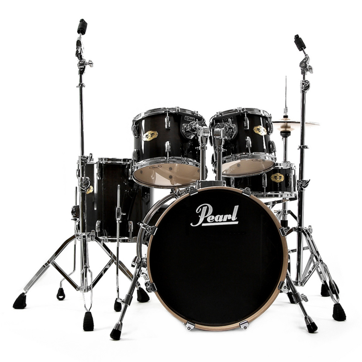 discontinued pearl vision vmx drum shell kit black fade at gear4music. Black Bedroom Furniture Sets. Home Design Ideas