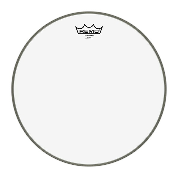 Remo Diplomat Clear 14'' Drum Head - Main Image