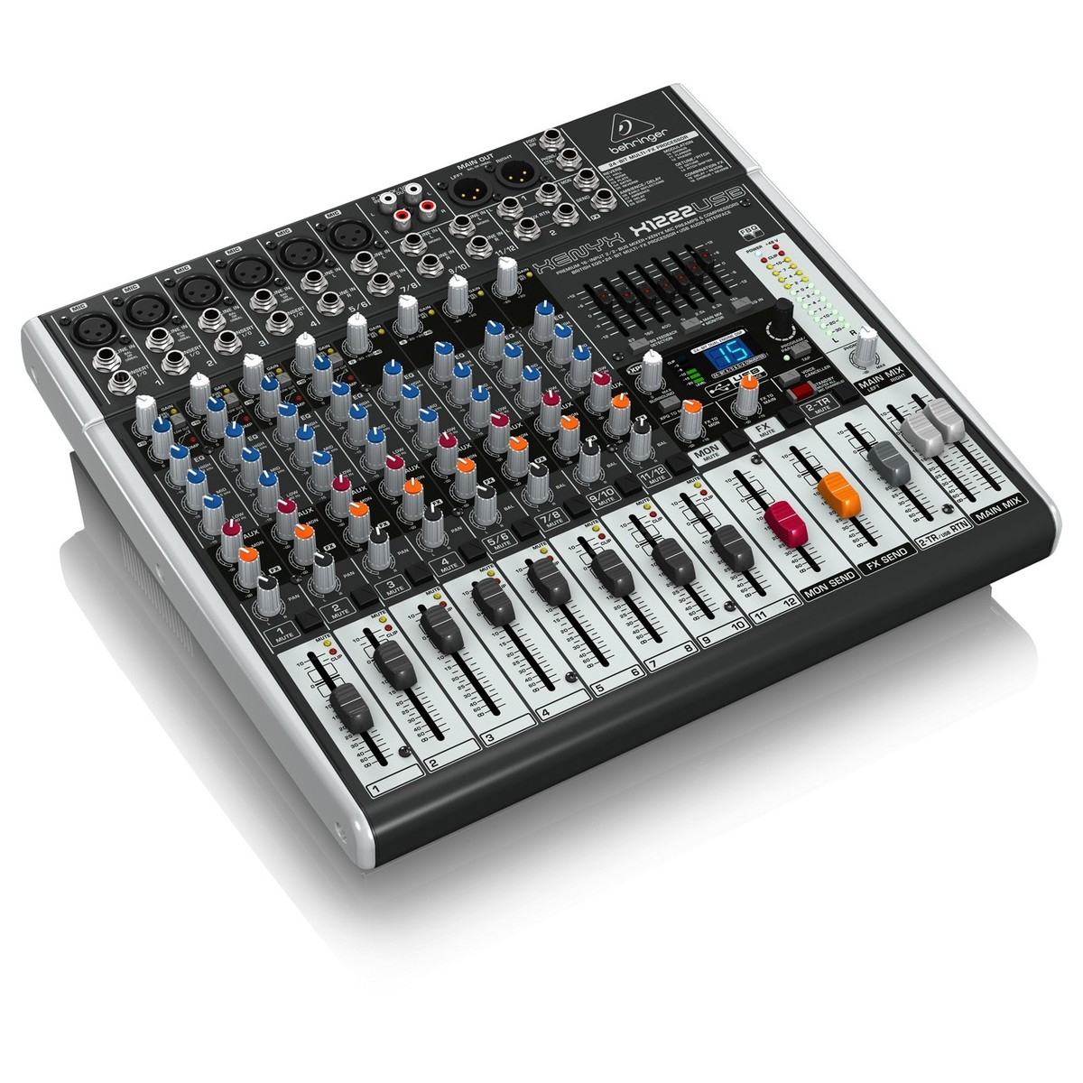 behringer xenyx x1222usb mixer at. Black Bedroom Furniture Sets. Home Design Ideas