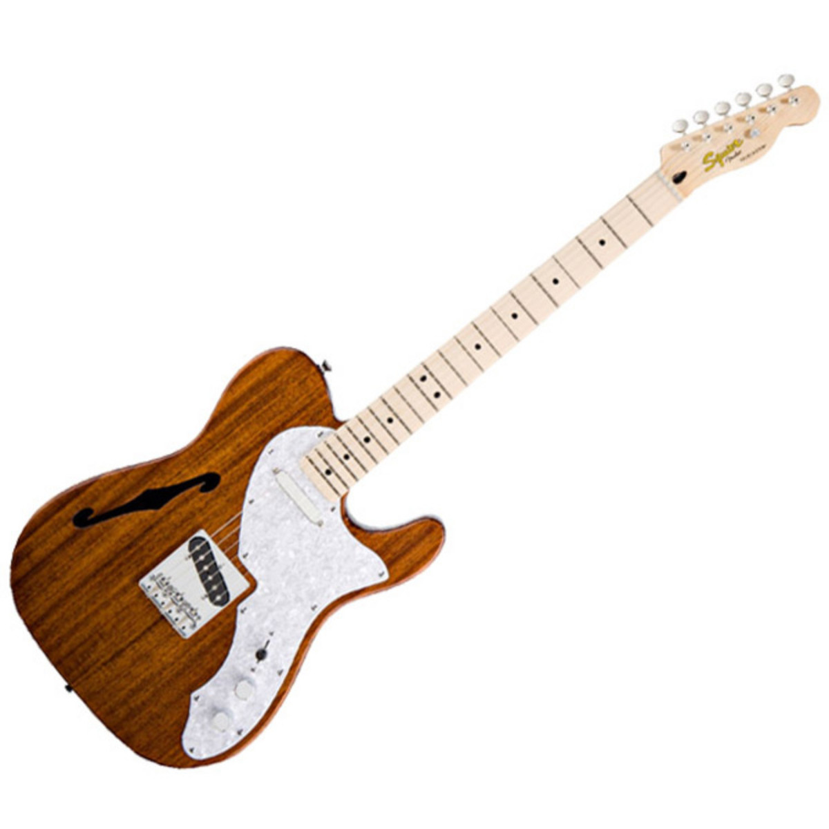 squier by fender classic vibe telecaster thinline natural at. Black Bedroom Furniture Sets. Home Design Ideas