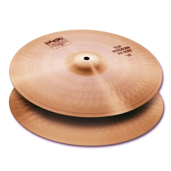 Paiste 2002 14'' Medium Hi Hat Cymbals - main image